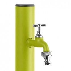 Colonnina idrica tonda Aquapoint LOOP 409VP - h 120 cm - Colore verde pastello