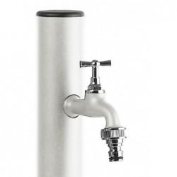 Colonnina idrica tonda Aquapoint LOOP 409B - h 120 cm - Colore bianco