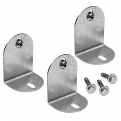 Aquapoint 134 - Zanchette per fissaggio in acciaio zincato per colonnine triangolari ovali e tonde
