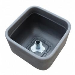 Aquapoint 140 - Vaso da interro in PE rotazionale per colonnine triangolari ovali e tonde