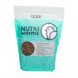 Nutriworms APPI 375 gr - Larve per uccelli o ricci del giardino